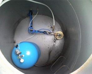 Гидроаккумулятор для скважины установка