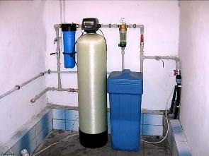 Очистка воды из скважины установка