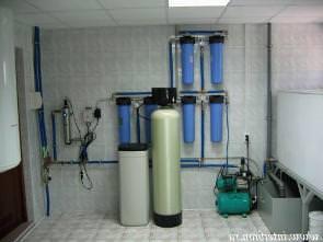 Очистка воды из скважины монтаж