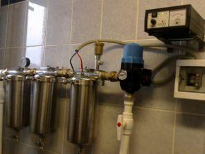 Очистка воды из скважины умягчитель