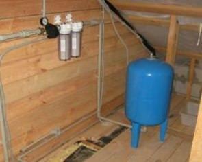 Основные этапы водоснабжения установка насоса