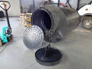 Подбор и монтаж кессона для скважины установка