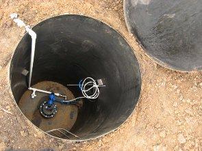 Подбор и монтаж кессона для скважины насос