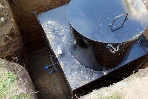 Ремонт кессона для скважины