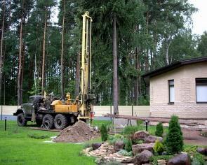 Технология бурения артезианских скважин источник воды