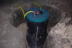 Как сделать кессон для скважины