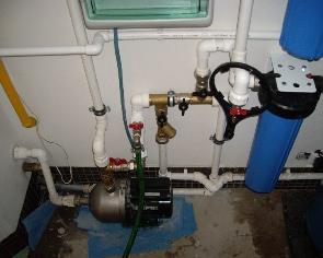 Водоснабжение с помощью скважины