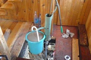 Технология забивки абиссинских скважин