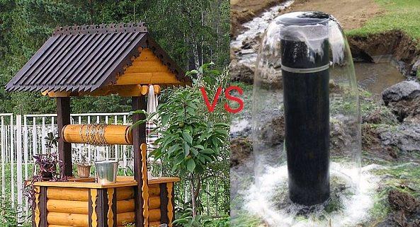 Что лучше: скважина или колодец?